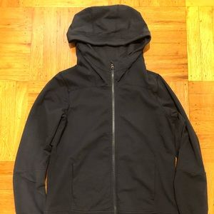 Navy blue Lululemon hoodie, size 8.